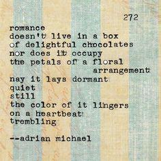 Blinking Cursor Series No. 272 #adrianmichael #typewriter #poetry #love