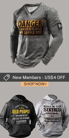 Up to 45% off! Men fashion long-sleeve T-shirt and accessories holiday sale for discount, free shipping on order $59. Shop now! #sale #men #outfits #accessories #shoes #shirt #tee #fall #winter #hoodie #tactical Hoodies, Sweatshirts, Print Design, Long Sleeve Shirts, Shop Now, Men Shirts, Mens Fashion, Tees, Mens Tops