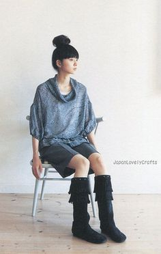 ADULT COUTURE BY YOSHIKO TSUKIORI - STYLISH AND LOVELY COORDINATE - JAPANESE SEWING PATTERNS BOOK FOR WOMEN 16
