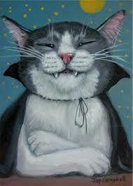Vampire Cat by Joy Campbell