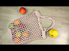 En Kolay File Çanta Yapımı / Alışveriş Filesi / DIY Shopping Net - YouTube Crochet Handbags, Crochet Bags, Knit Crochet, Diy Bags Purses, Diy Purse, Hello Kitty Bag, Halloween Bags, Net Bag, Macrame Bag
