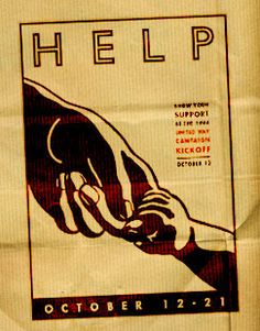 Poster for The United Way.
