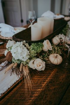 B Vintage Style Autumn Tablescape, Thanksgiving, Xmas table, Christmas Table, Fall decor, Fall table (scheduled via http://www.tailwindapp.com?utm_source=pinterest&utm_medium=twpin)
