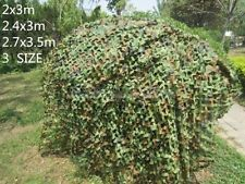 Camouflage netting for lost boys den