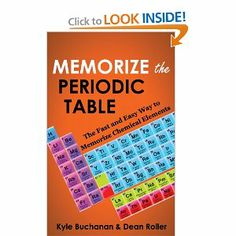 Make your own giant periodic table of the elements cycle 3 memorize the periodic table the fast and easy way to memorize chemical elements urtaz Images
