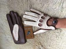 Women's Driving Gloves Black Brown Beige Brown Cognac Tan size 6.5 7 7.5 8