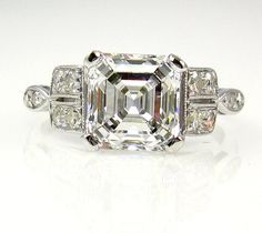Antique And Vintage Engagement Rings Art Deco 20