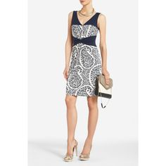 How cute would this be for a rehearsal dinner dress! I LOVE IT! <3 BCBG