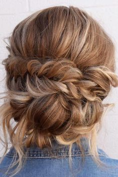ecf7e8972db 36 Romantic Rustic Wedding Hairstyles ❤ Rustic wedding hairstyles have to  look with naturally and