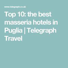 Top 10 The Best Meria Hotels In Puglia