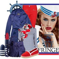 Fringe sailor....