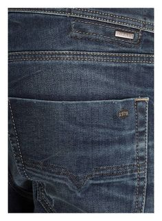 DIESEL Destroyed-Jeans TEPPHAR Jeans Pants, Denim Jeans, Diesel, Destroyed Jeans, Trends, Indigo, Mens Fashion, Blue, Clothes