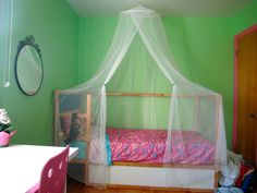Ikea Kura bed for a princess :)