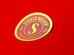 Free Sticker Mockup PSD for Branding 2019 update - Graphic Cloud Free Logo Psd, Free Mockup Templates, Business Card Mock Up, Label Design, Sticker, Vehicle Branding, Cloud, Billboard Mockup, 3d Logo