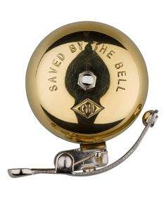 Wild & Wolf Gentlemens Hardware Vintage Brass Bicycle Bell | zulily