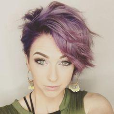 Short+Pastel+Purple+Hairstyle