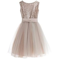 Little Wardrobe London - Sequin Tulle Dress