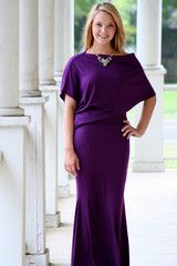 Plum Perfect Day Maxi Dress