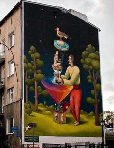 Interesni Kazki New Mural In Lublin, Poland