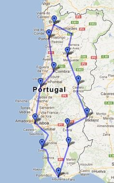 European Road Trip, Road Trip Europe, European Travel, Oh The Places You'll Go, Places To Travel, Holiday Destinations, Travel Destinations, Europe Train Travel, Spain And Portugal