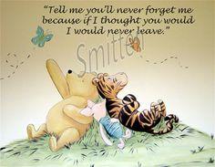 winnie the pooh, piglet, and tigger Piglet Quotes, Winnie The Pooh Quotes, Winnie The Pooh Friends, Eeyore, Tigger, Tao Of Pooh, Art Prints Quotes, Quote Art, Pooh Bear