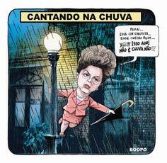 Cantando na…chuva? | Humor Político
