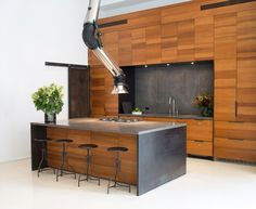 Not only is this a loft which already makes it a winner, but HELLO statement kitchen! From the ...