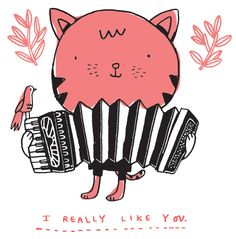 I really like you. (Even more than I like kittens playing accordions.)
