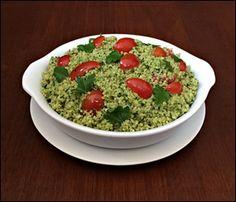 Quinua ao Pesto de Salsinha