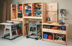 Awesome Garage Space Saving Ideas