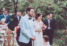 Marcela Mansergas para novias vintage del siglo XXI #boda #vestidosdenovia #marcelamansergas