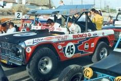Ford Bronco, Farnelli Jones and Al Unser Old Ford Bronco, Early Bronco, Bronco Car, Classic Ford Broncos, Classic Bronco, Parnelli Jones, Desert Buggy, 4x4, Trophy Truck