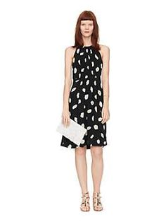 daisy dot tie back dress by kate spade new york