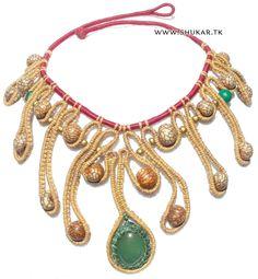 Shukar Creations   Brazilian Vermarine Necklace