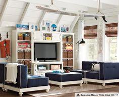 Hang Out Room Ideas & Cushy Surf Lounge   PBteen