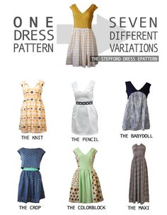 One Dress, Seven Variations! The Stepford Seven Ebook