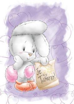 Милые зверята для декупажа Tatty Teddy, Bunny Nursery, Nursery Art, Bunny Images, Baby Posters, Valentine Images, Baby Illustration, Bear Art, Rabbits