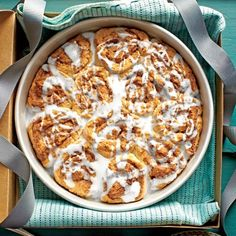 Recipes from the September Issue of Southern Living: Biscuit Cinnamon Sweet Rolls