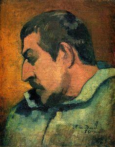 self portrait - Paul Gauguin