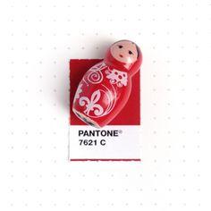 Tiny Pantone Color Matching by designer Inka Mathew