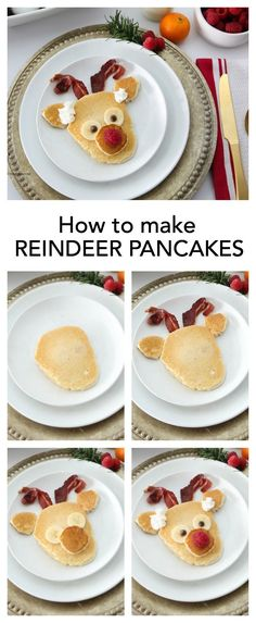 Holidays-Christmas| How-to-make-reindeer-pancakes