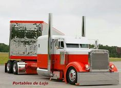 custom Flat top Peterbilt