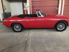 "Bruce's 1967 MG MGB ""Little Red"" - AutoShrine Registry"