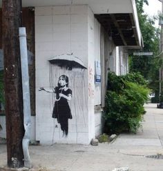 street art banksy 8 Banksy: British street artist (20 photos)