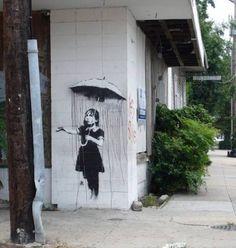 street art banksy 8 Banksy: British street artist (20 photos)