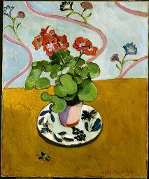 Henri Matisse, Geraniums, 1910, Painting, Oil on canvas, French, 20th century | Harvard Art Museums