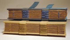 Resultado de imagen de exposed spine bookbinding