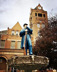 General Clark keeps watch over Forest City Iowa. 10.19.16
