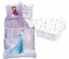 Disney Frozen Set Dekbed + Hoeslaken Cascade 1 persoons