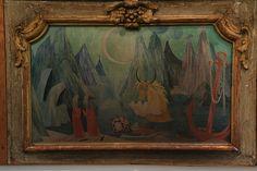Tove Jansson Oil Painting